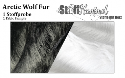 1 Stoffprobe - Arctic Wolf Fell
