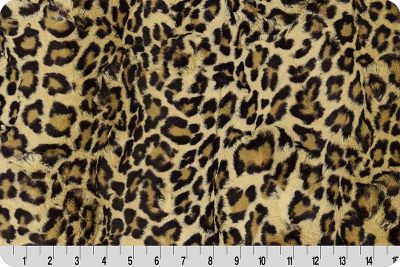 Shannon Luxe Cuddle - Leopard Sand - 0,5m